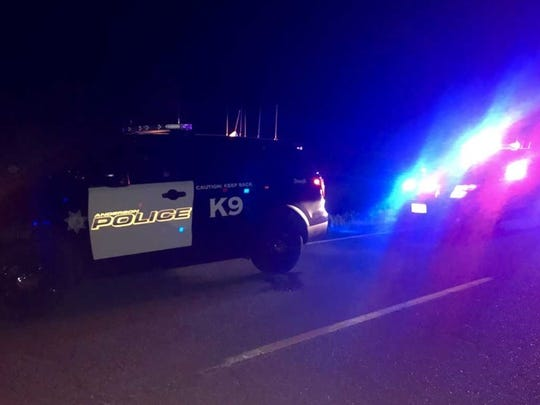 Anderson police, including a K-9 unit with Aero aboard, arrested an Anderson man Friday night after he led them on a chase.