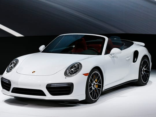 The Porsche 911 Turbo S debuts at the North American