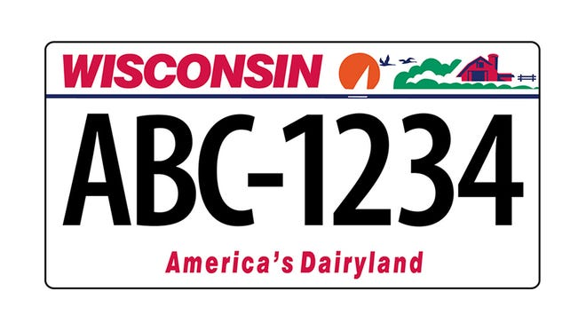 The Wisconsin DMV anticipates the supply of regular Wisconsin license plates with six characters (123-ABC) will run out at the central office and new vehicle license plates with seven characters will be issued beginning mid April.