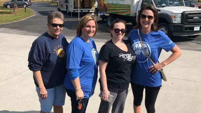 Nancy Reid, Tracy Scimeca, Jennifer Mummert and Rachel Pierce