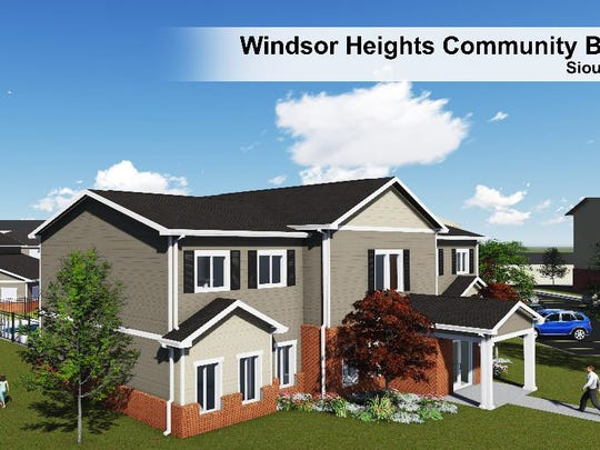 The future Windsor Heights Community Building..