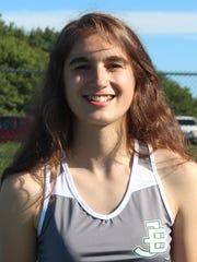 Rachel Martin, James Buchanan girls tennis