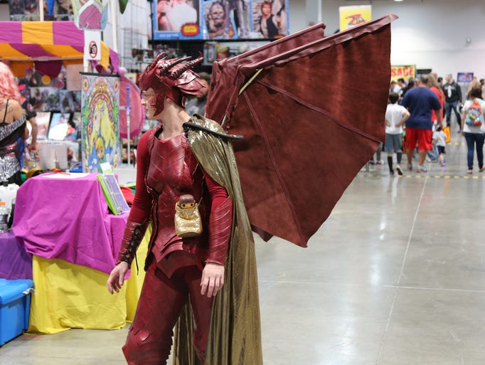 Geeks, cosplayers, artists, vendors and characters