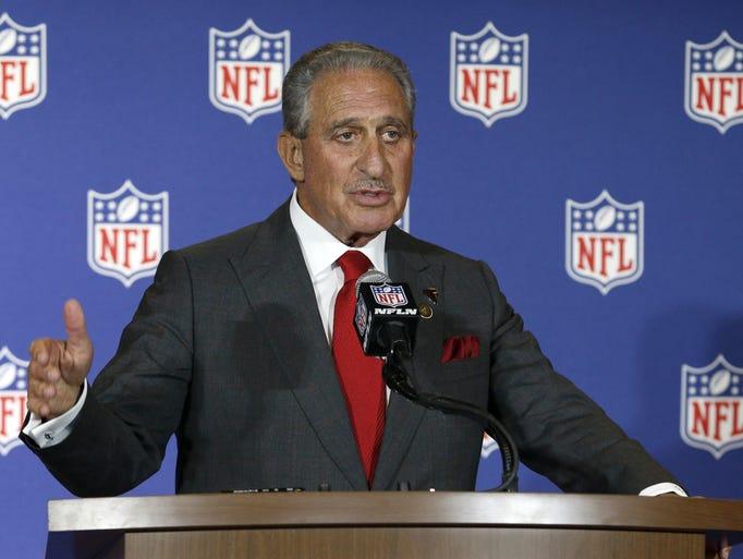 Atlanta Falcons owner Arthur Blank talks about his