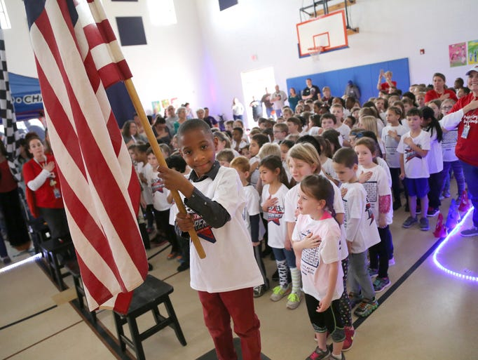 Plain Elementary School celebrated their Boosterthon