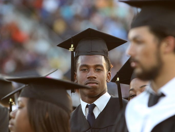 Neville High School held their 2017 commencement exercises