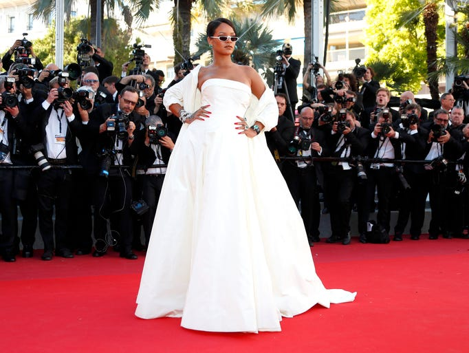 First up, Rihanna stopped the show in this stunning