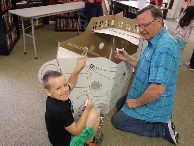 "The Ouachita Parish Public Library hosted ""SummerFest"""