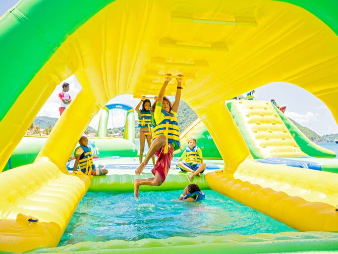 Whoa Zone floating water park is set to open June 24