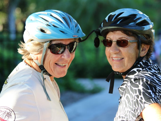 Jean Preston, age 69, and Pat Bermeo, age 75, on their