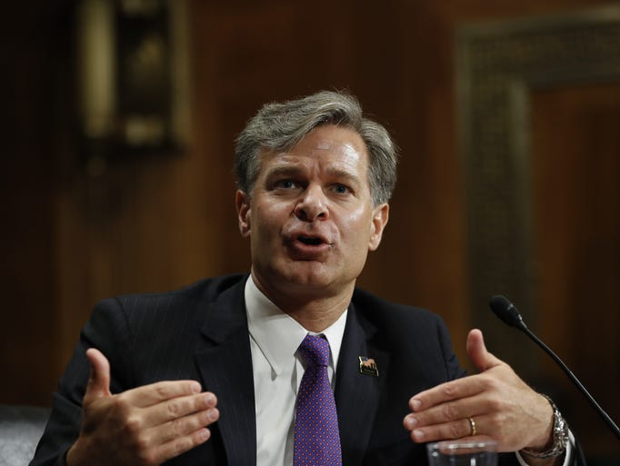 Christopher Wray, Director of the Federal Bureau of