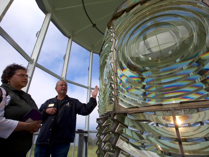 The tour of Cape Blanco Lighthouse allows visitors
