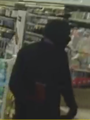 Southwest Florida Crime Stoppers is asking for the public's help in identifying an unknown suspect who robbed a Lehigh Acres Walgreens at gunpoint on Monday, Feb. 19, 2018.