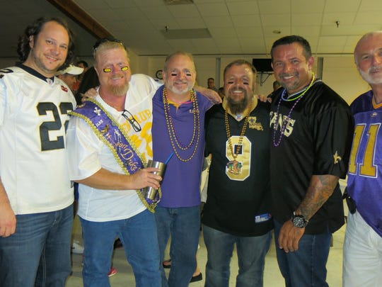 "Partying at Krewe Elders ""Homecoming Tailgate Coronation:""Kyle"