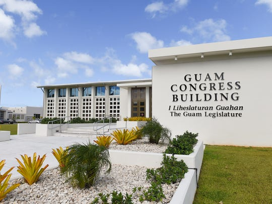 The Guam Congress Building in Hagåtña on Nov. 28, 2017.