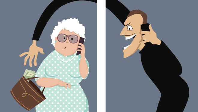 The telephone is one of the most frequent ways that seniors are targeted by con artists.