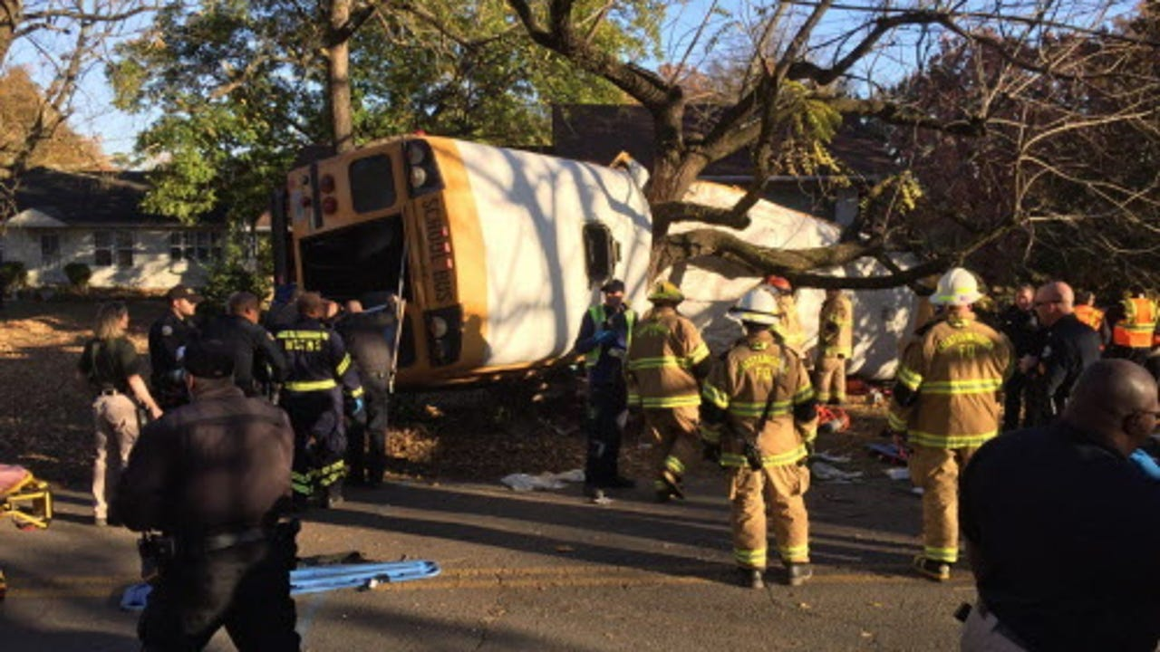 Multiple fatalities in Chattanooga bus crash