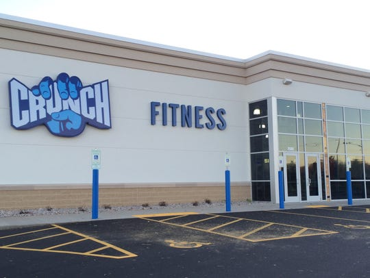 Crunch Fitness opened on Appleton's east side.