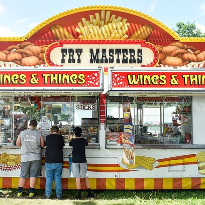 Marion County Fair food: From gator and shark to local pork