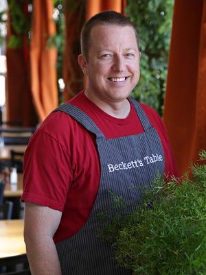 Chef Justin Beckett of Beckett's Table.