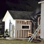 Vacant Oconto home damaged by fire