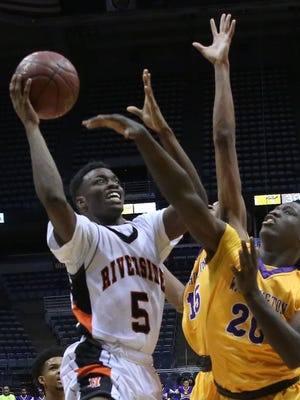 Milwaukee Riverside senior Carlos Curtis averaged 19 points per game last season and earned first-team all City honors for the second straight year.