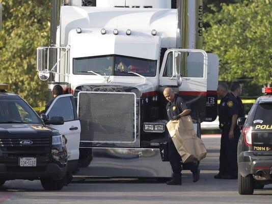 Tractor Trailer Trafficking Deaths