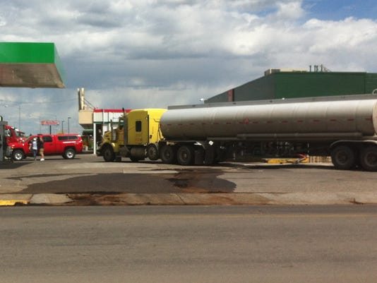 1 Gas spill photo