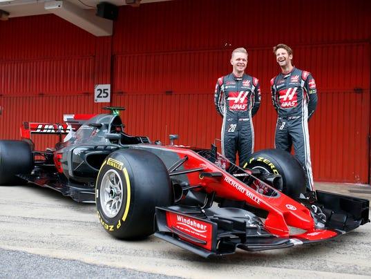 AP SPAIN F1 HAAS S CAR ESP