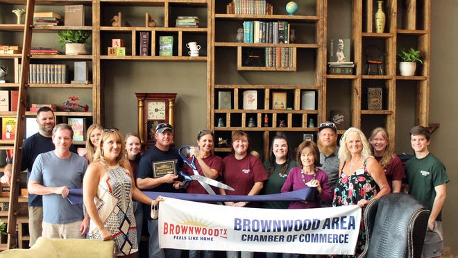 The Brownwood Area Chamber of Commerce held a ribbon cutting for Intermission Bookshop on Aug. 29. They are located in the, newly renovated, historic Queen Theatre at 203 Center Ave. in downtown Brownwood. During the opening, Kim and Brent Bruton expressed the joy in being stewards of this bookshop, emphasizing that this is a community bookshop. Kim noted that God was in this project from furniture and book donations to all of the helping hands used to organize and shape the space. The Intermission Bookshop will be open from 11-6 pm Tuesday - Thursday and 11-8 pm on Friday -Saturdays. For more information, call 325-203-5239.