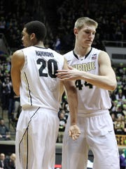 Purdue has the luxury of multiple 7-footers in A.J. Hammons and Isaac Haas.