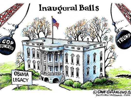 Dave Granlund, Politicalcartoons.com, drew this editorial cartoon.