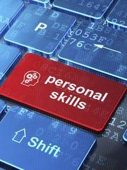 personal skills button