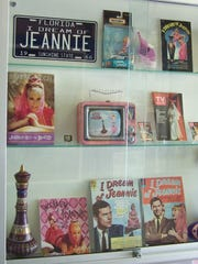 "An ""I Dream of Jeannie"" exhibit is on display at the Air Force Space and Missile History Center."