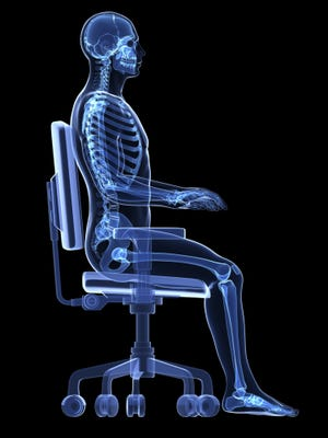 Bad posture can lead to skeletal problems.