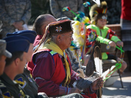 Four members of the Red River Intertribal Club participated
