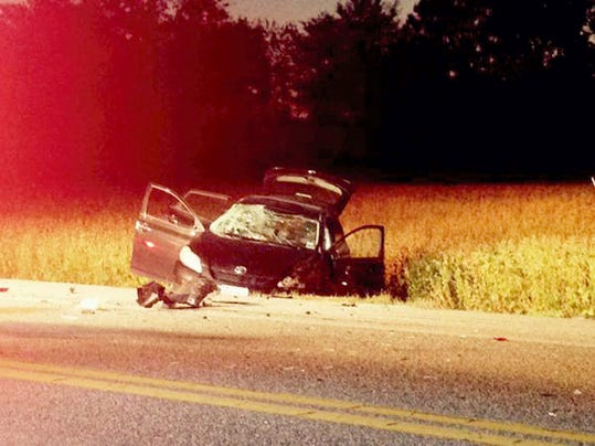 Two drivers escaped injury after this crash in North Cornwall Township Tuesday at 7:06 p.m.