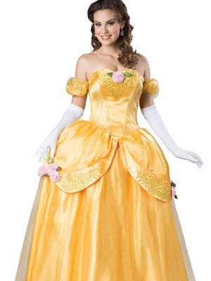 "It's time to get the costume ready. Going for glamour? Try Belle from ""Beauty and the Beast."""