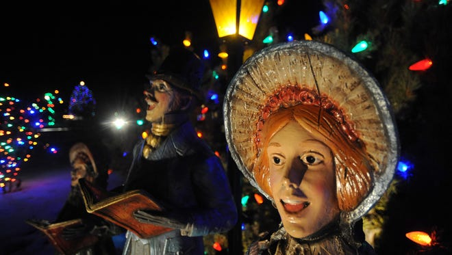 Woodward Inc.'s campus west of  the intersection of Lemay Avenue and Drake Road is known for its holiday display. This year the display will be moved to the Gardens on Spring Creek because of construction on the Woodward campus.