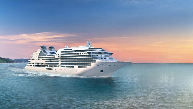 The 604-passenger Seabourn Encore is scheduled to debut in late 2016.