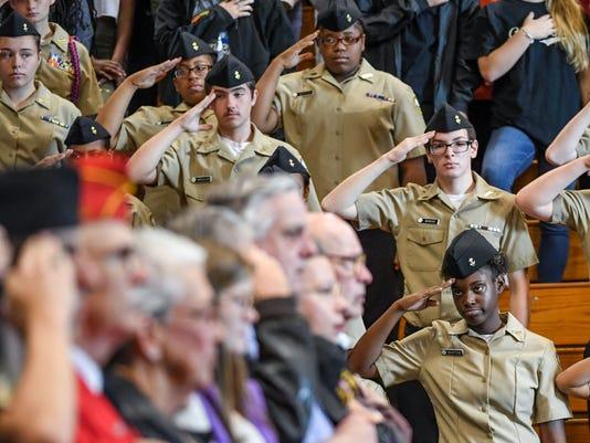 Anderson Veteran's Day roundup