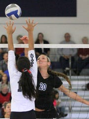 Marlea Nolan (20) competes in the Horseheads Classic