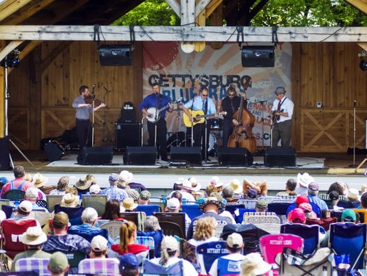 The 71st Gettysburg Bluegrass Festival will feature more than 20 bluegrass artists and bands on two stages Aug. 13-16 at Granite Hill Camping Resort in Gettysburg.