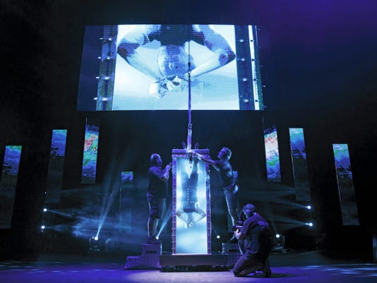 Andrew Basso will perform in The Illusionists in Hershey.
