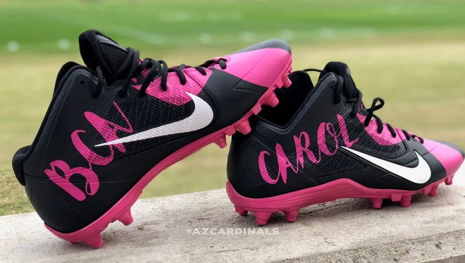 #MyCauseMyCleats: Here are Larry Fitzgerald's special cleats for Week 13 of the NFL.