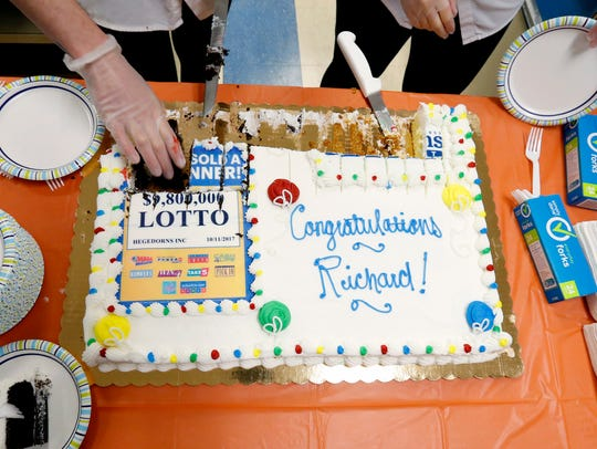 Richard Giles, 76, of Macedon won the flagship Lotto