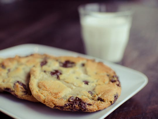 Chocolate chip cookies at Please & Thank You in Louisville.