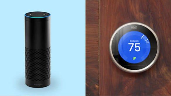 Nest Thermostat and Amazon Echo