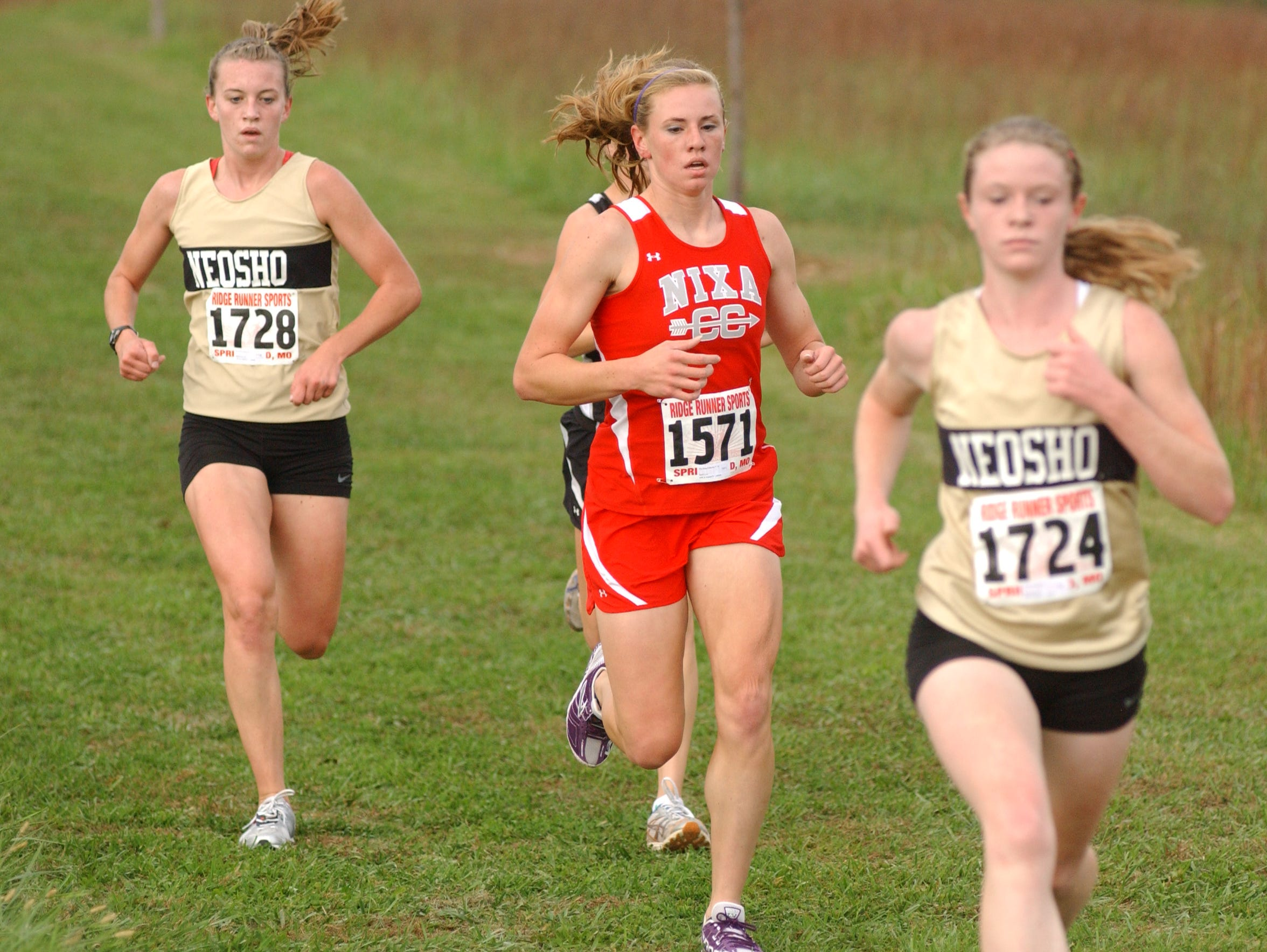 Courtney Frerichs still holds three school records