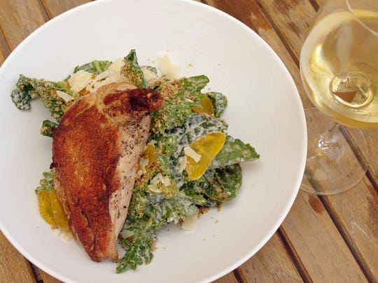 The Restaurant at Justin, located at Justin Vineyards and Winery, features fresh, local ingredients that reflect the season.